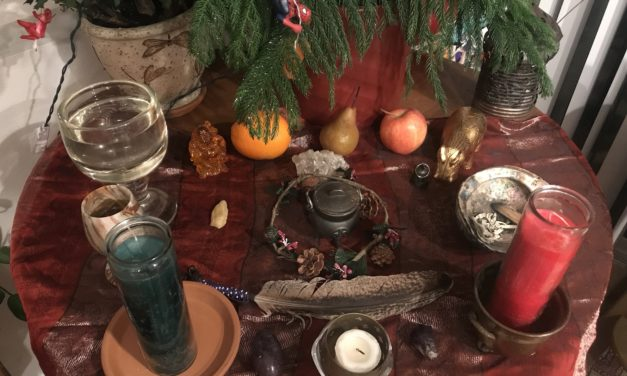 Winter Solstice/Full moon ritual